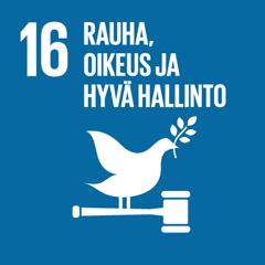 16. Rauha, oikeus ja hyvä hallinto