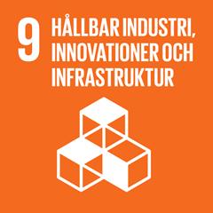 9. Hållbar industri, innovationer och infrastructur